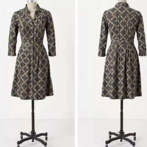 Anthropologie Dress Maeve Wightwick Manor Corduroy